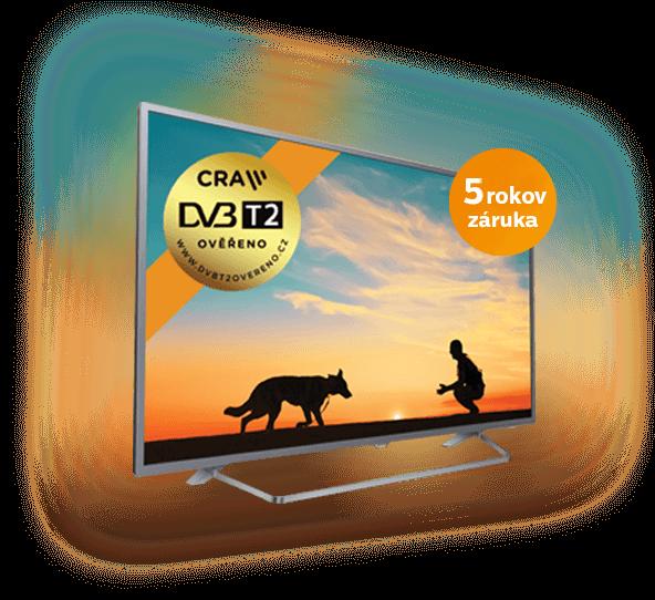 fa0a39644 Zakúpením Philips TV vyriešite problémy s DVB-T2 a získate teraz predĺženú  záruku o ďalšie 3 roky v hodnote až do 390 €!