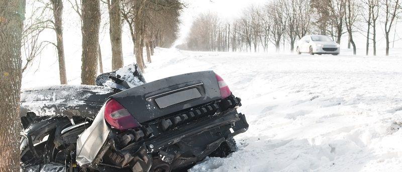 Autonehoda pri cestě na hory