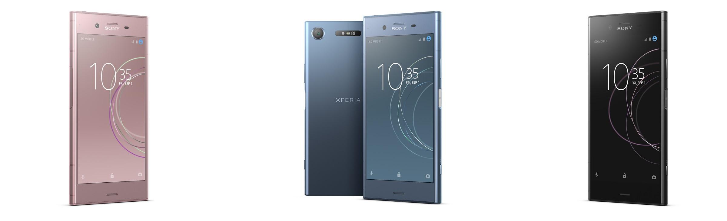 Sony Xperia XZ1; telefón