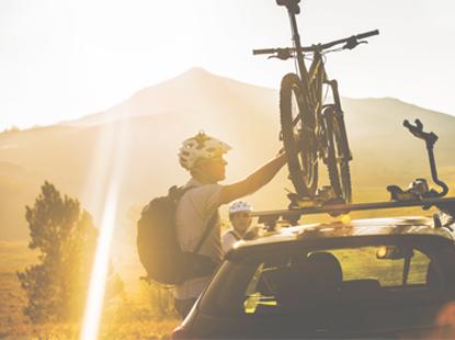 Ako vybrat nosič na bicykel