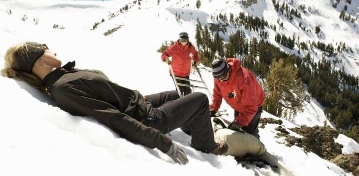 Úraz pri lyžovaní