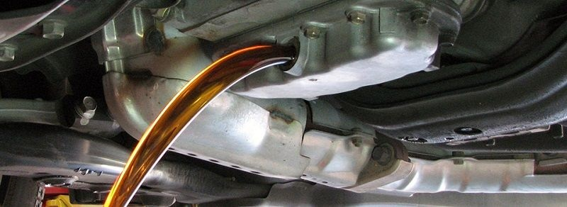 Výmena prevodového oleja