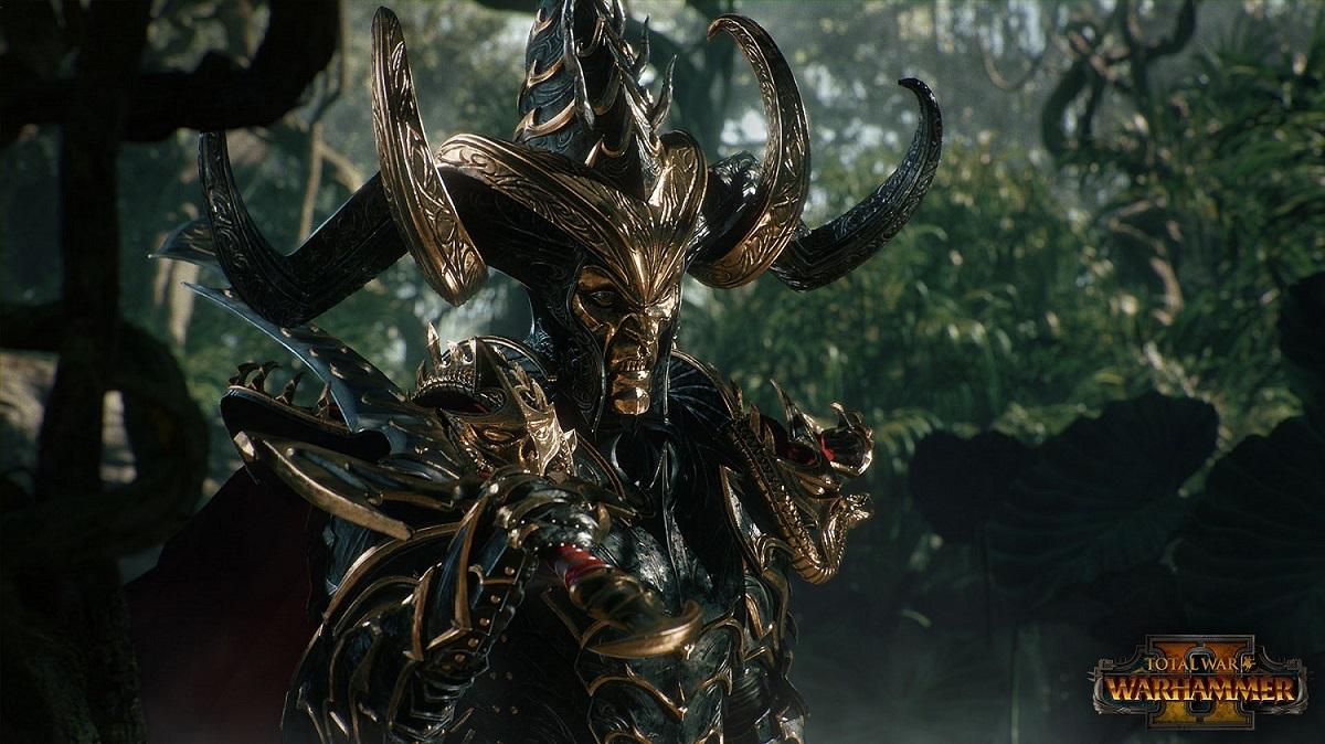 Total War Warhammer 2; hratelná frakce; temní elfové, Malekith