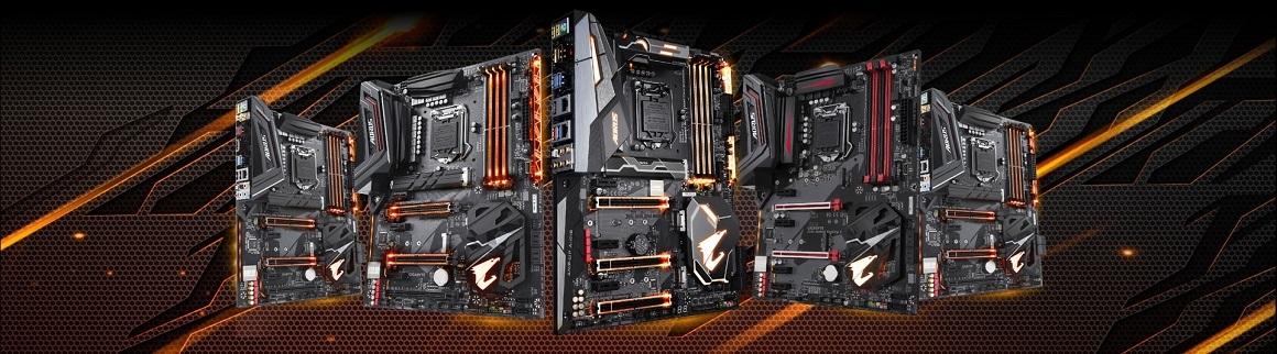 Základné dosky AORUS Gaming Z370/H370; Far Cry 5 zdarma