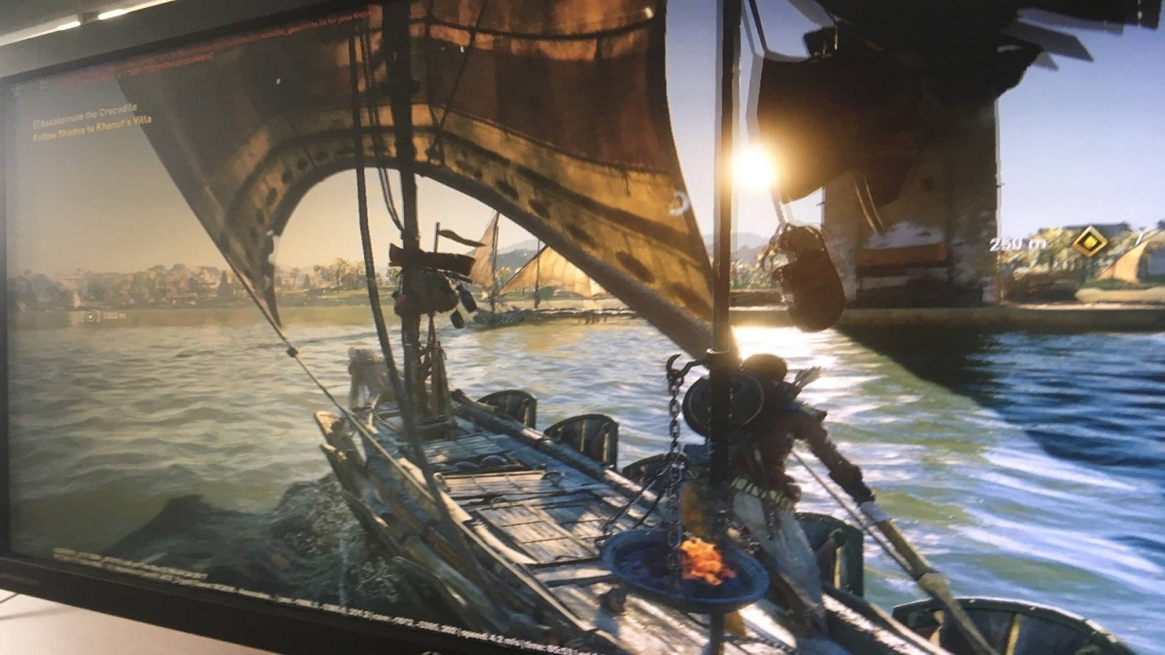 Assassin's Creed: Origins; leaked screen