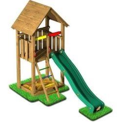 Detské ihrisko a preliezačky