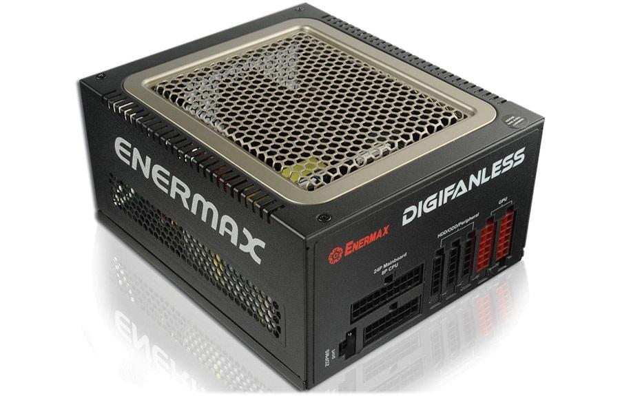 Enermax DigiFanless 550 W – počítačový zdroj