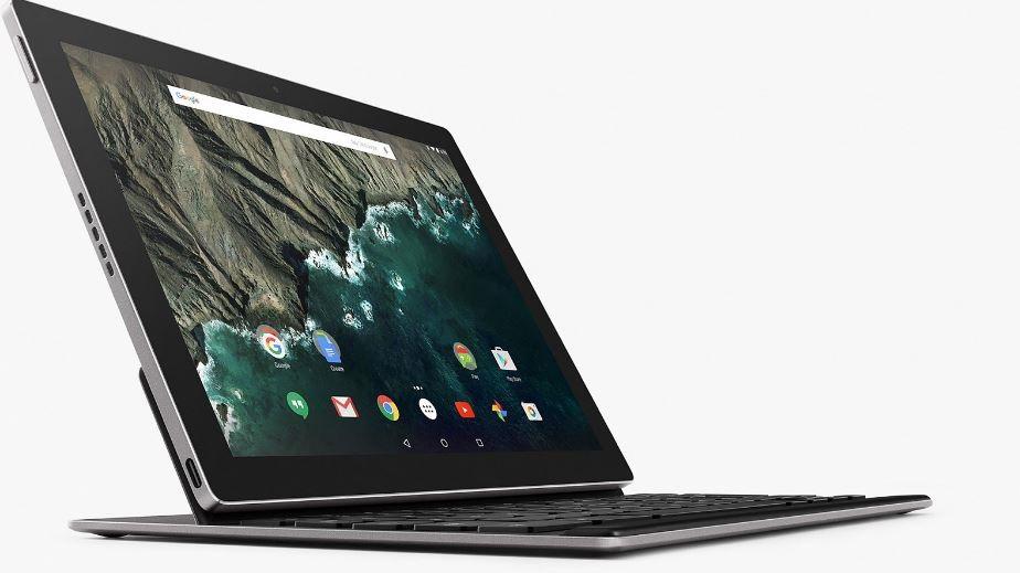 Google Pixel C; klávesnica