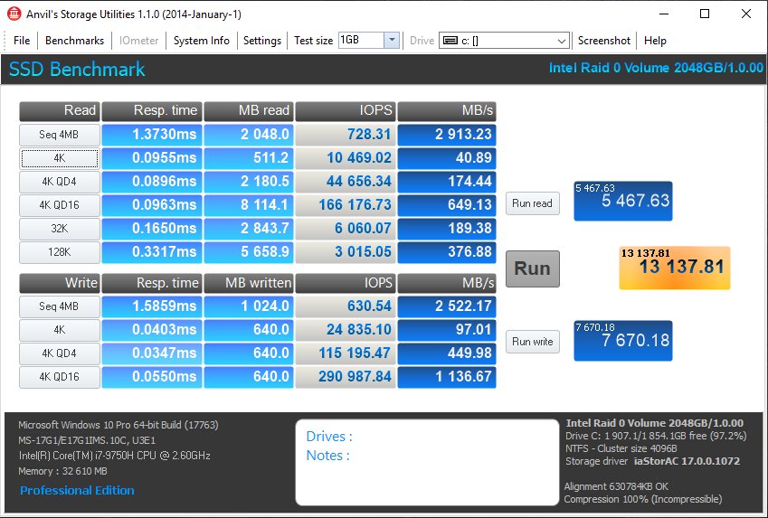 MSI GS75 Stealth 9SG – SSD2