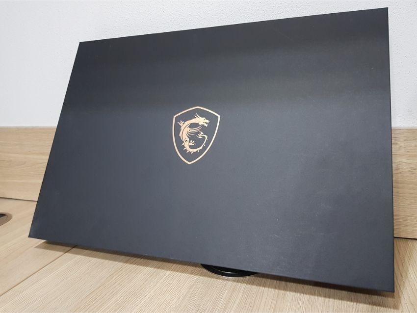 MSI GS75 Stealth 9SG – Škatuľa