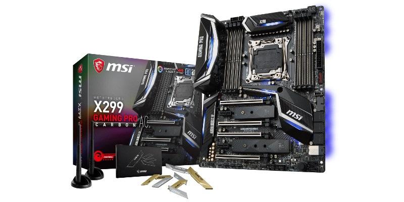 MSI X299 GAMING PRO CARBON AC (RECENZIA A TESTY)