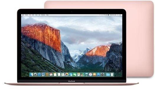 MacBook ružový