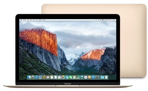 MacBook zlatý