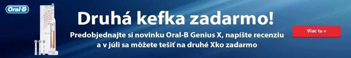 Oral-B kartáček zdarma
