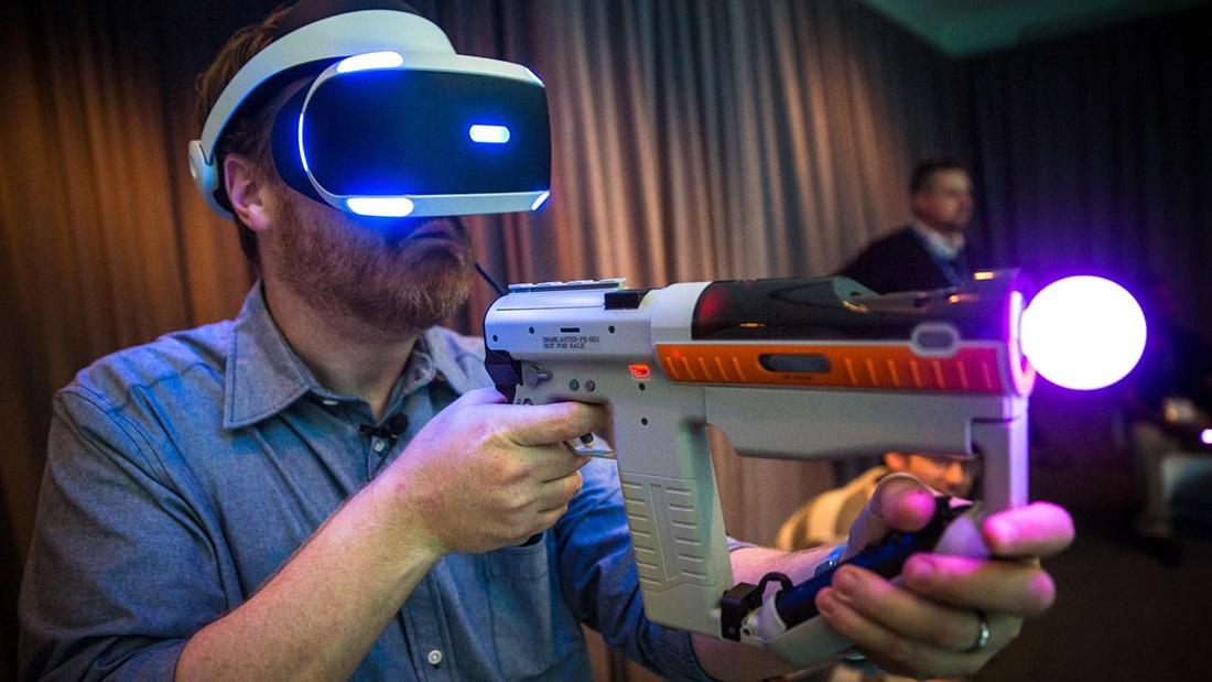 Herné príslušenstvo pre VR