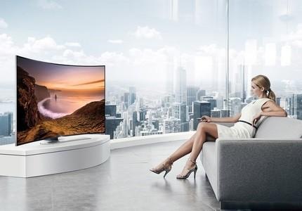Zakrivený Smart TV Samsung