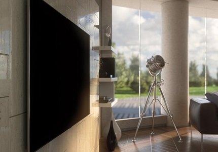Systém uchytenia Smart TV vo vyhotovení No Gap