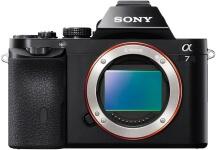 Bezzrkadlovka Sony Alpha 7