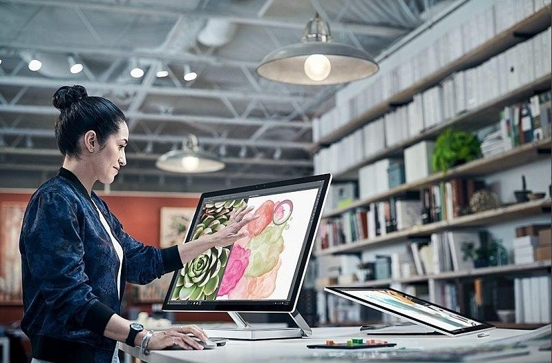 Microsoft Surface Studio - displej