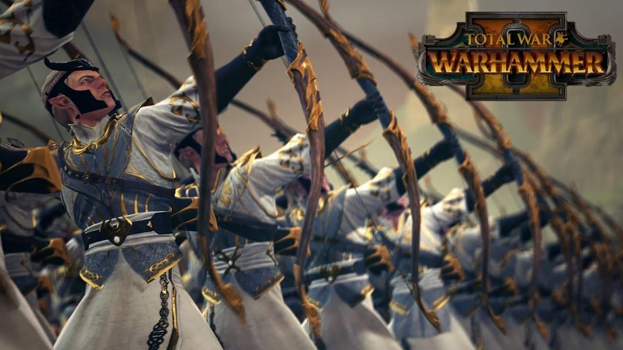 Total War: Warhammer 2 elfí lučištníci