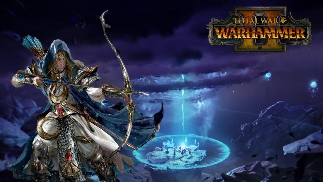 Total War: Warhammer 2 elf vortex
