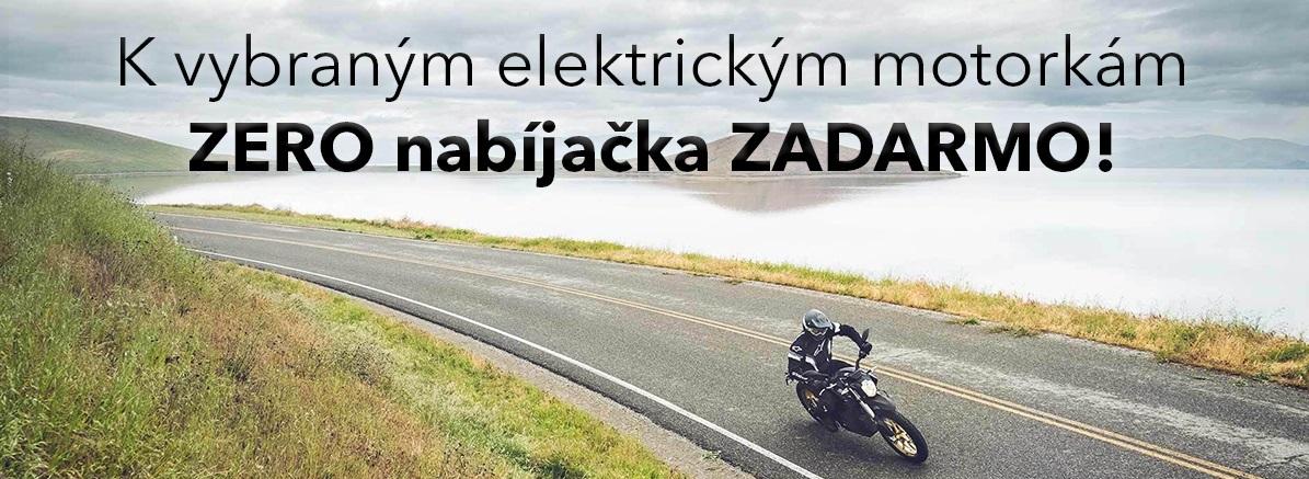 Nabíječka zdarma k elektromotorkám ZERO