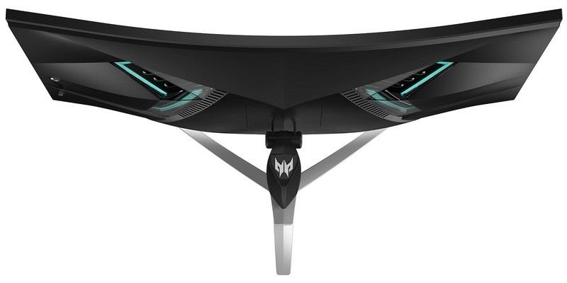 Acer Predator X35, zhora