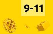 LEGO 9-11 let