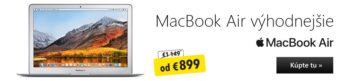MacBook Air výhodnejšie