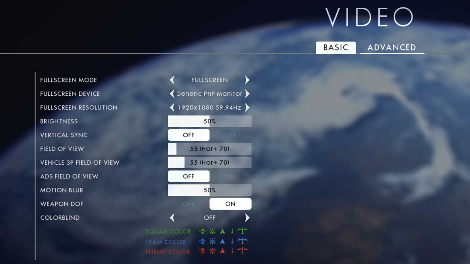 Battlefield 1 nastavenie testu 1