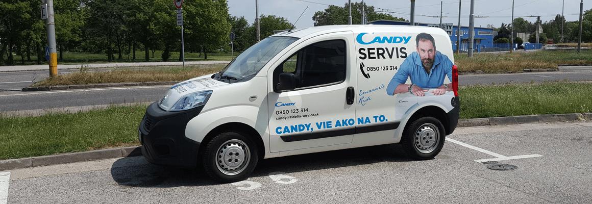 Zákaznická podpora a servis Candy & Hoover