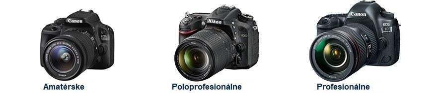 Digitálne-zrkadlovky-canon-nikon-amaterske-poloprofesionálne-profesionalne