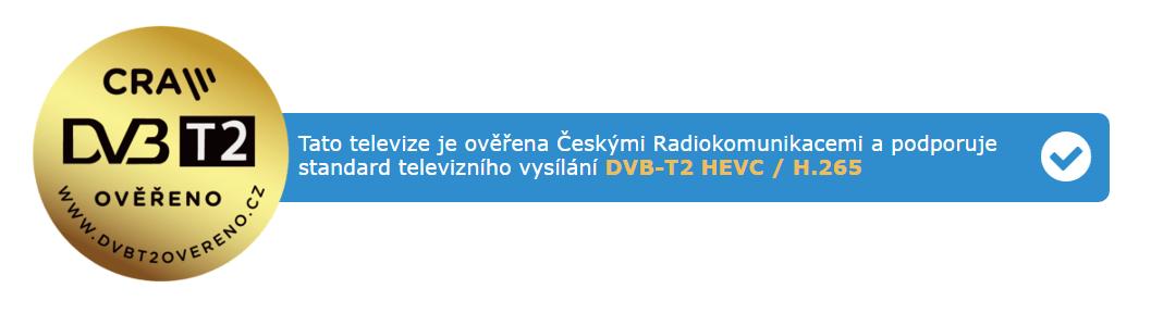 DVB-T2 overené, logo