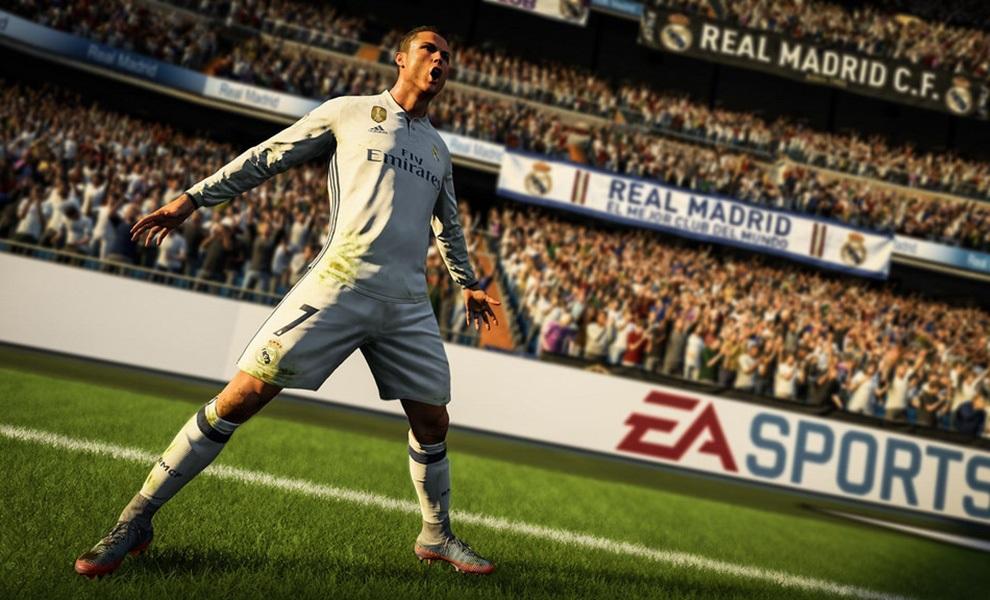 2f24bc813 FIFA 18; Cristiano Ronaldo scores