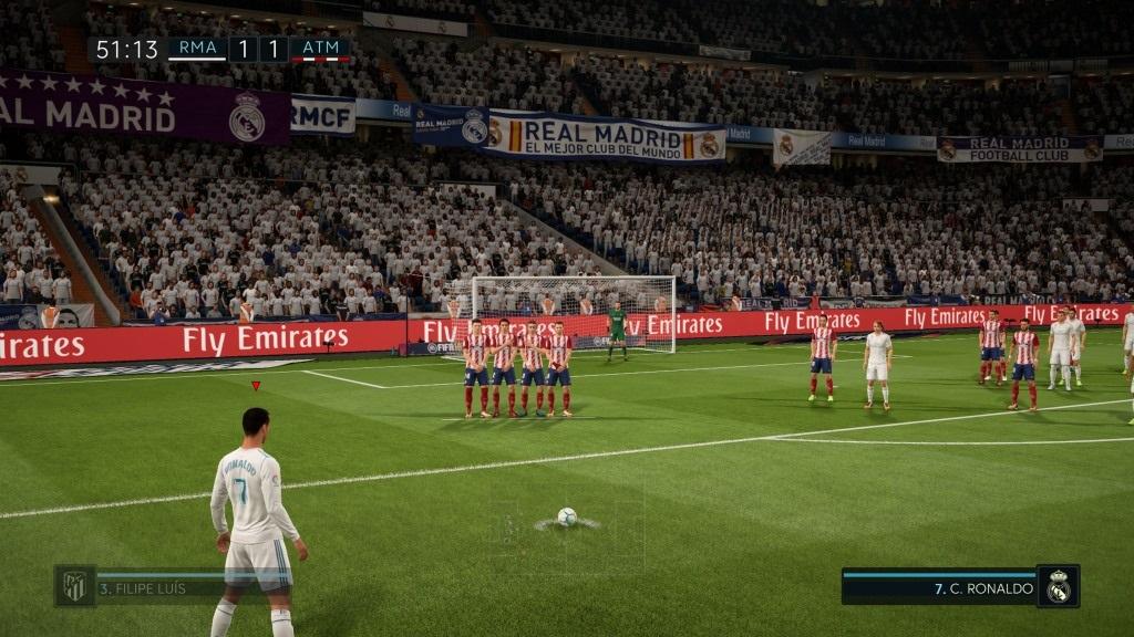 940d9b244 FIFA 18; Gameplay: Ronaldo, Strela na bránku ...
