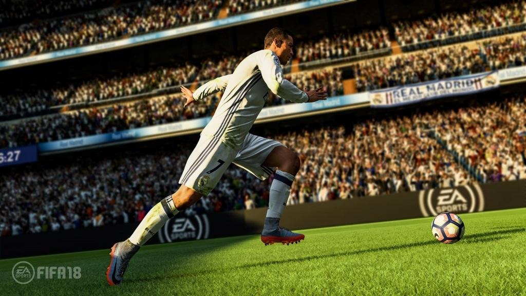a662bd649 FIFA 18; Wallpaper: Ronaldo, ťah na bránku