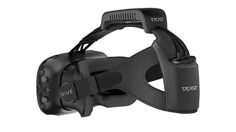 Bezdrôtový set k okuliarom HTC Vive