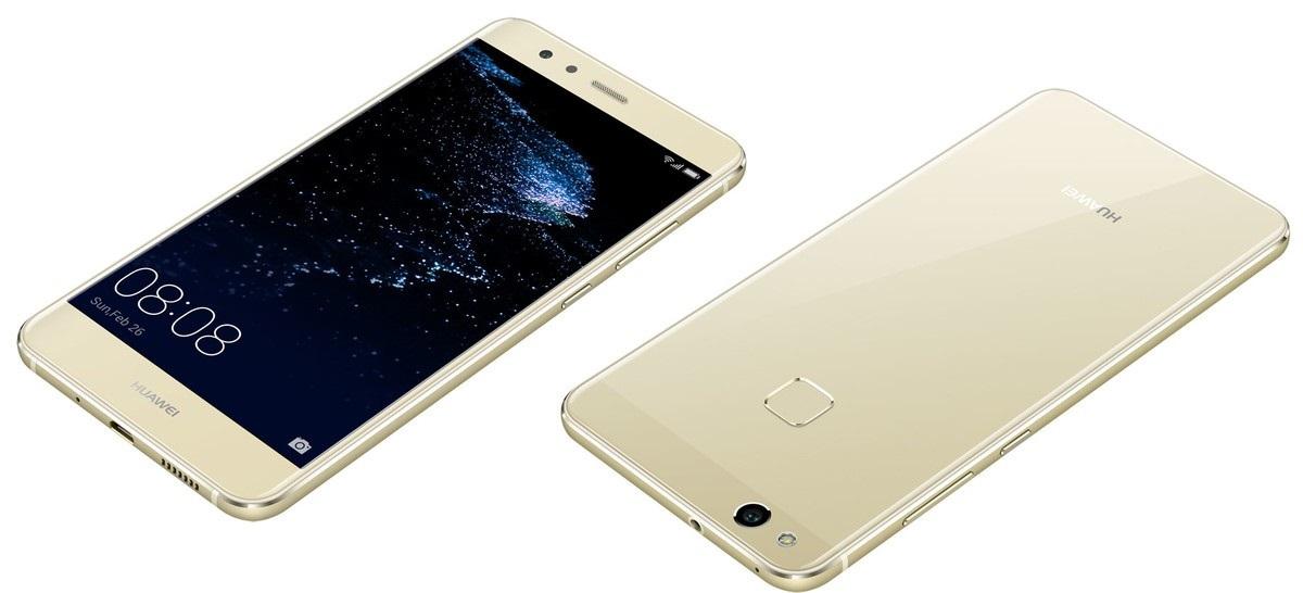 Huawei P10 Lite predná a zadná strana