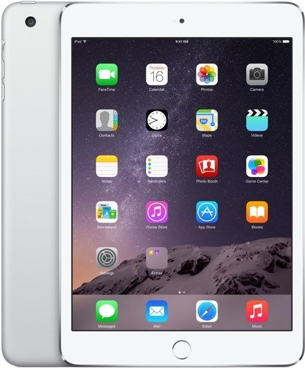 iPad Air 2 strieborný