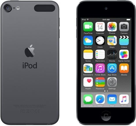 iPod Touch šedý
