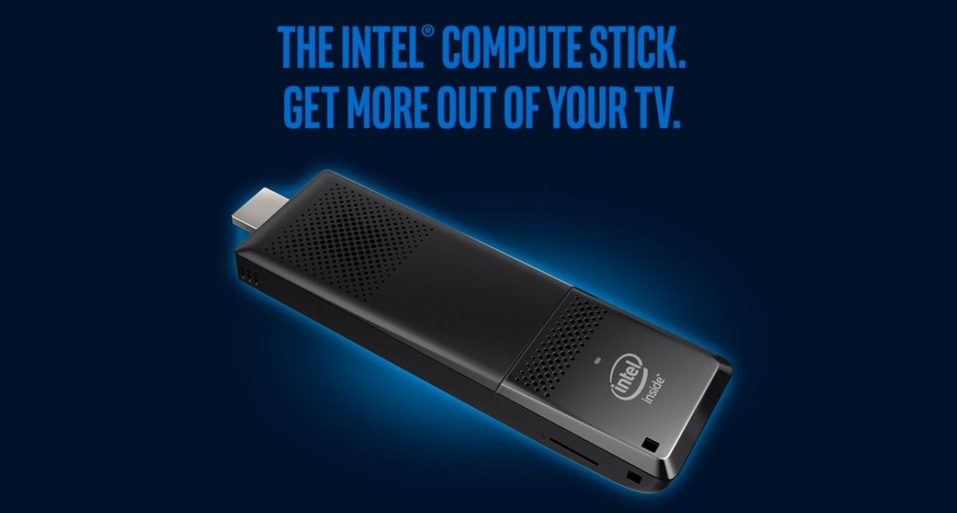 Vreckový počítač Intel Compute Stick oživí váš televízor