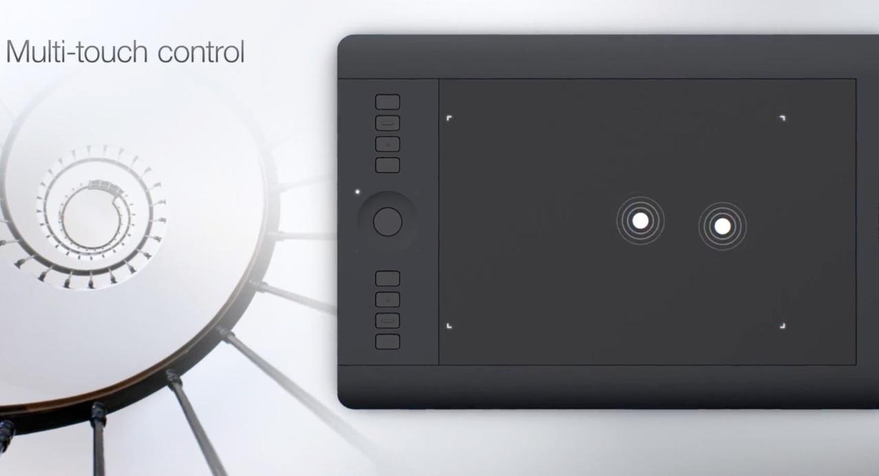 Grafický tablet Wacom Intuos Pro M - posuňte vaše umenie na vyšší level e0f6bbddb2e