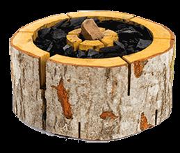 jednorazový gril na dřevo