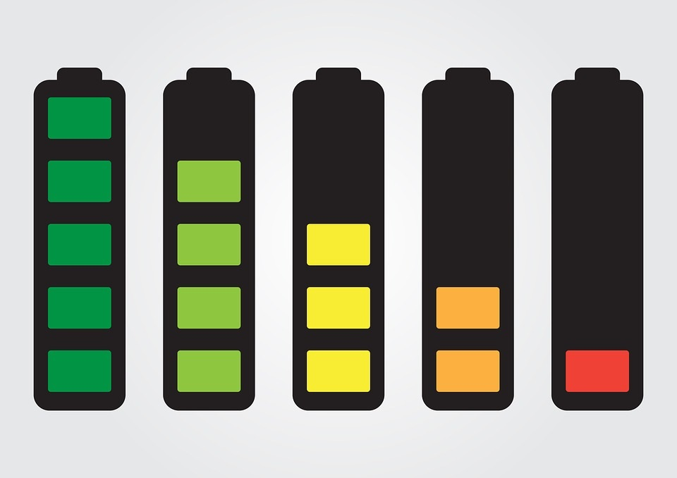 Kapacita batérie