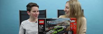 LEGO Technic RC pásové pretekárske auto s Tomom