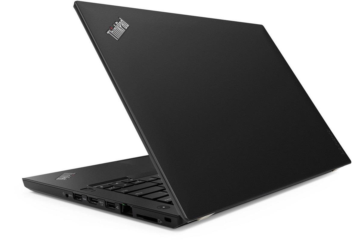 Lenovo ThinkPad T480, zozadu