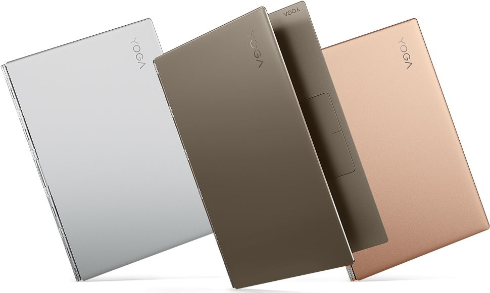 Lenovo Yoga 920, farby