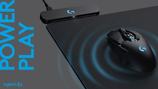 Logitech Powerplay, bezdrôtové nabíjanie herných myší
