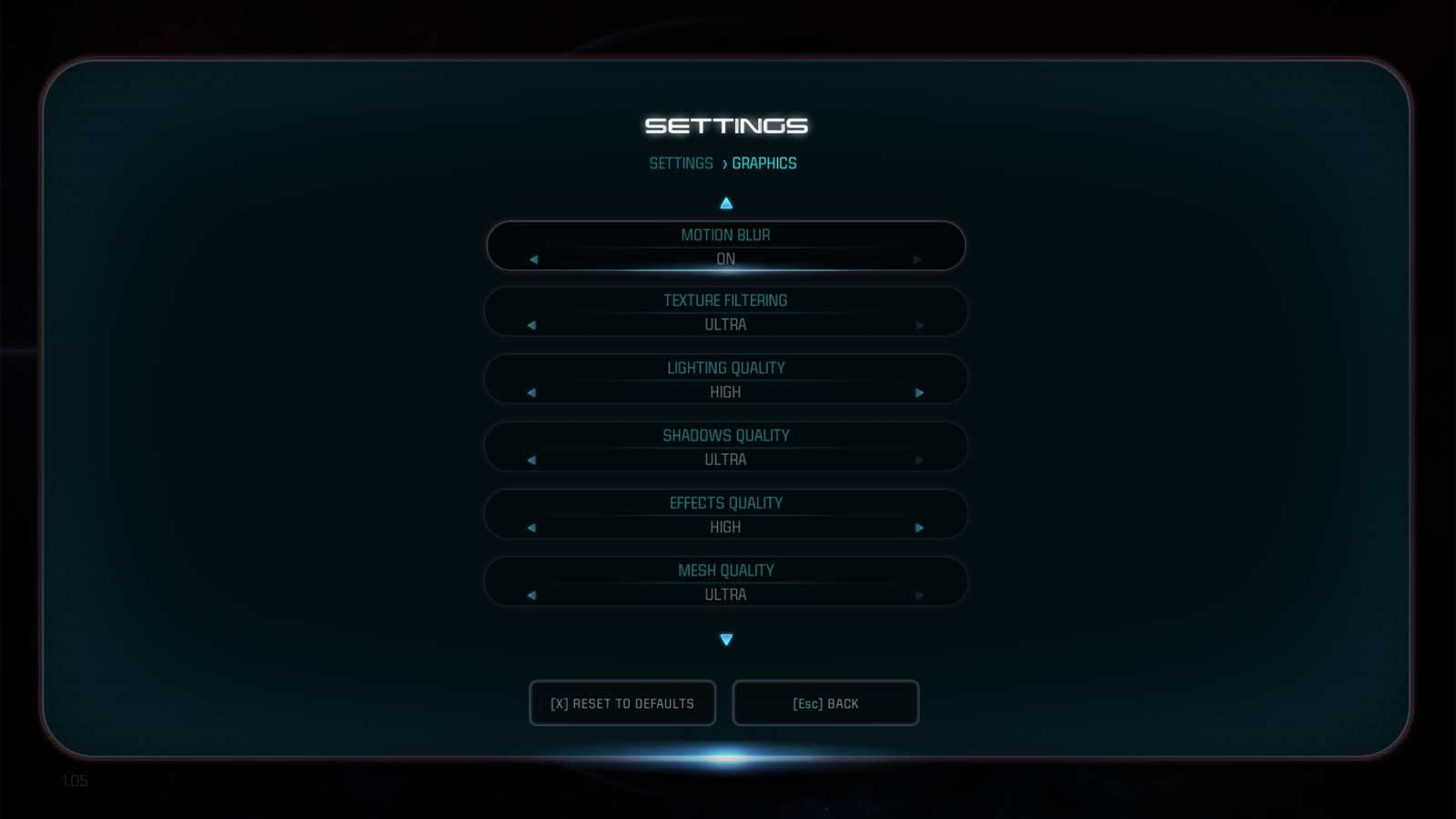 Mass Effect: Andromeda nastavenie 4
