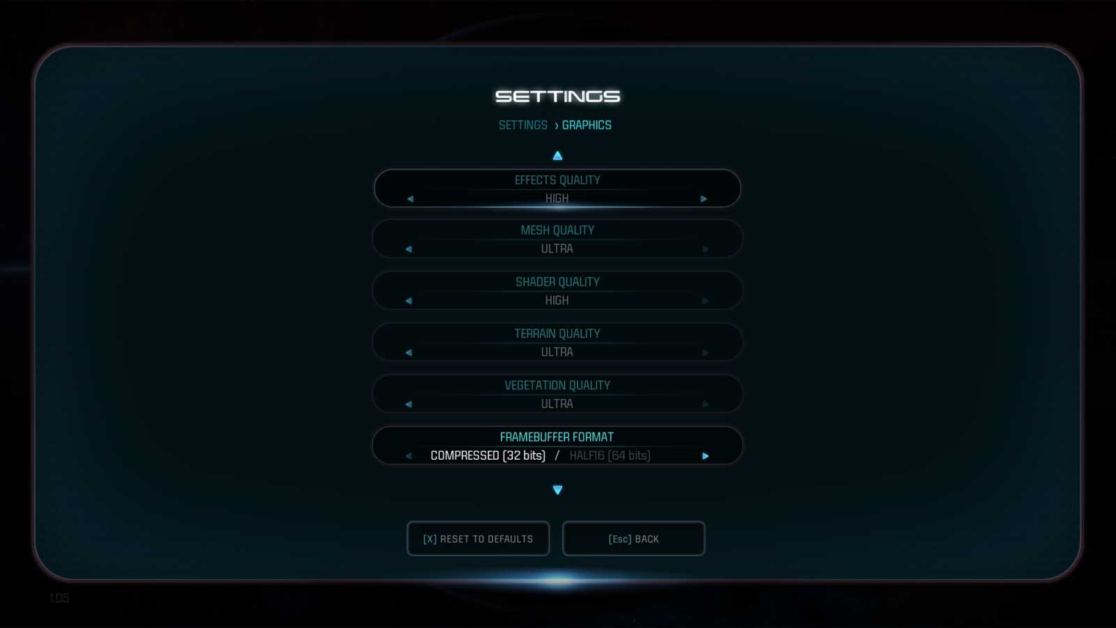 Mass Effect: Andromeda nastavenie 5